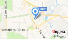 Часовня в Ивантеевке на карте