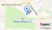 На Смурякова на карте