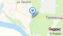 Московский областной центр дезинфекции, ФГУП на карте