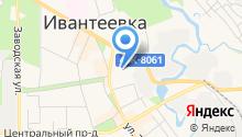 Первомайский на карте