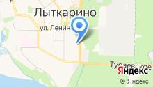 Мировые судьи Лыткаринского района на карте