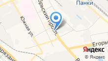 Магазин кондитерской продукции на карте