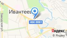 Ивантеевский отдел ЗАГС на карте