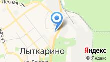 Почтовое отделение №140083 на карте