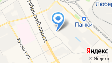 Геостройпроект на карте