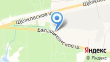Детский сад №44, Земляничка на карте