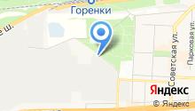 Западный на карте
