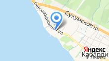 Кабардинка на карте
