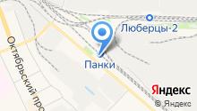 Магазин по продаже хлебобулочных изделий на карте