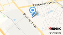 Томилинская средняя общеобразовательная школа №19 на карте