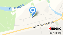 Алексеевская роща на карте