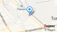 ЕВРОДРАЙВ, НОЧУ на карте