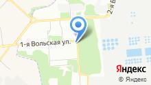 Совет депутатов муниципального округа Некрасовка на карте