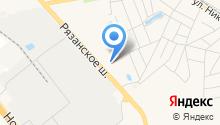 Томилинский коммунальный комплекс на карте
