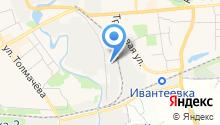 """ПСО """"МонтажСтрой"""" - Производственно-строительное объединение «Монтажстрой» на карте"""