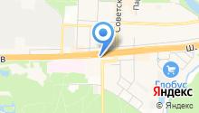 Автостоянка на ул. Степана Разина на карте
