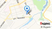 Детский сад №9, Уголёк на карте