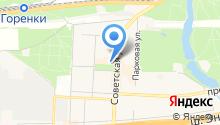 Буратино на карте