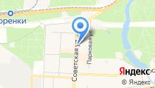 Хаси на карте