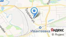 Пушкинский районный отдел судебных приставов на карте