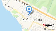 Лагуна на карте