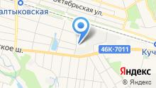 ветеринарная клиника Балашиха на карте