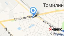 Салон штор на ул. Хомякова на карте
