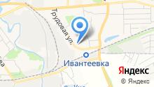 Отдел полиции по г. Ивантеевка на карте