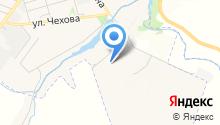 Брусяновский на карте