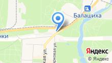 Балашихинский учебный центр на карте
