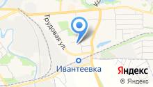 О`Блик на карте