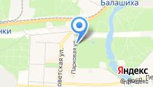 Балашихинский на карте