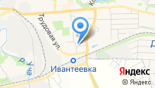 Леонида на карте