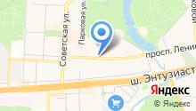 Интерфам-АА на карте