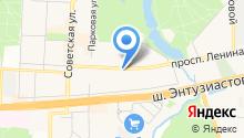 Букетик на карте