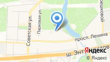 Аистёнок на карте