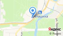 Авторынок Москвы на карте