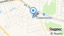 Томилинская основная общеобразовательная школа №17 на карте