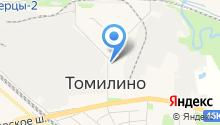 Томилинский жилищный трест на карте