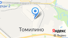 Сеть цветочных магазинов на карте