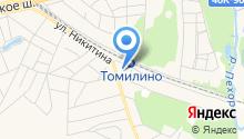 Администрация городского поселения Томилино на карте
