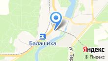Центр по делам ГОЧС городского округа Балашиха на карте