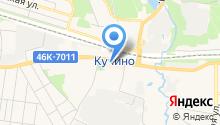 Магазин кондитерских изделий на Центральной на карте