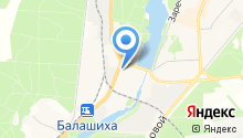 Гарсинг на карте