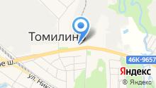 Звезда Томилино на карте