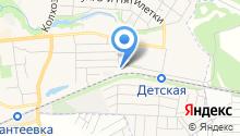 Ивантеевская школа на карте