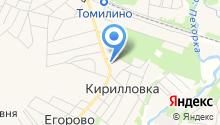 Почтовое отделение №140072 на карте