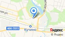 Мировые судьи Железнодорожного района на карте