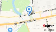 Вегус на карте