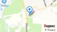 Автосервис на Леоновском шоссе на карте